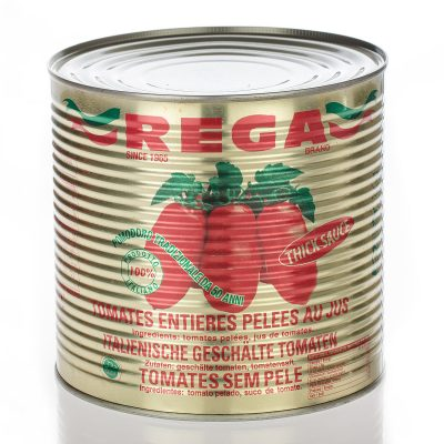 Whole peeled tomatoes-gold can
