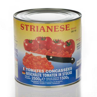 Polpa di pomodori a cubetti